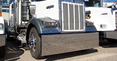 Kenworth custom chrome bumpers