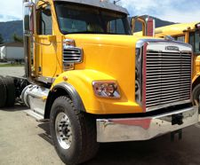 Freightliner Chrome Bumpers