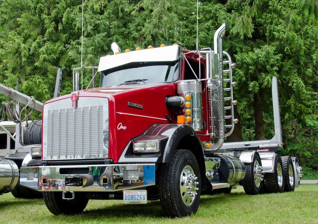 Kenworth Chrome Bumpers